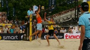 Beach Volleyball am Schloss