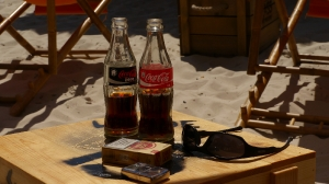 Coke am Beach
