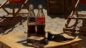 Coke am Beach